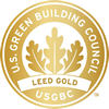 Gold LEED Logo