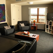 Western Residence Hall - Living Room