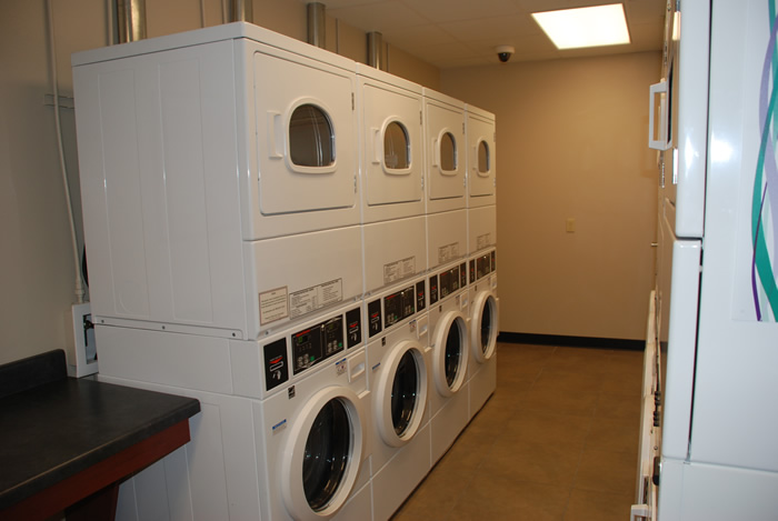 Residence Hall Laundry Room