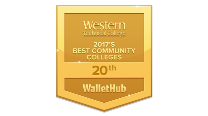 Western Technical College WalletHub Badge