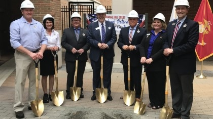 Vet Center Groundbreaking