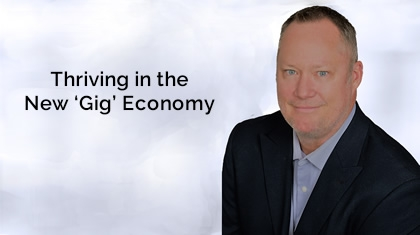 """Chris Larson - """"Thriving in the New 'Gig' Economy"""""""