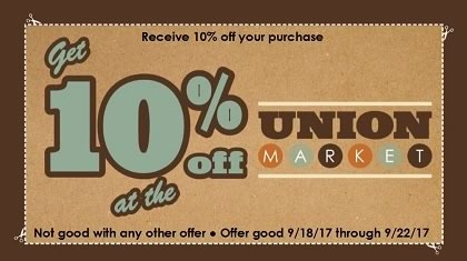 Receive 10% off your purchase