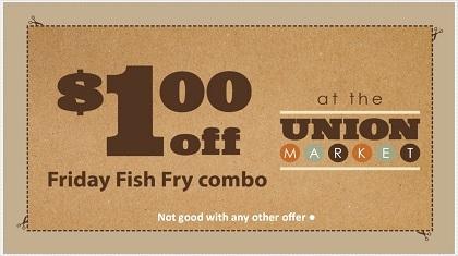 $1.00 off Friday Fish Combo